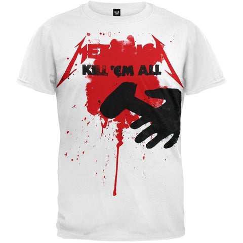 Metallica - Kill Em All Splatter T-Shirt