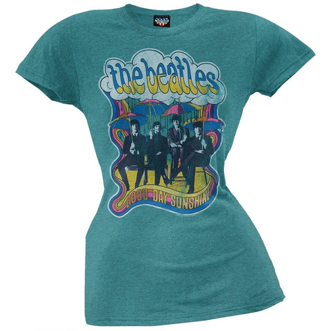 The Beatles - Good Day Sunshine Overdye Juniors T-Shirt