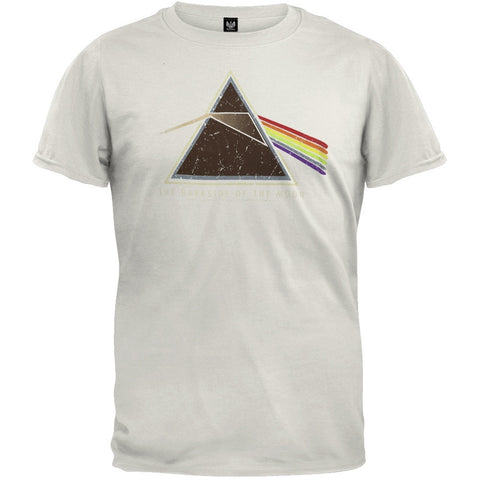 Pink Floyd - Dark Side Tan T-Shirt