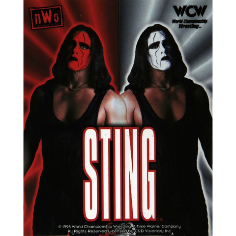 WCW - Sting Heaven and Hell Decal