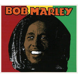 Bob Marley - Tricolor Decal