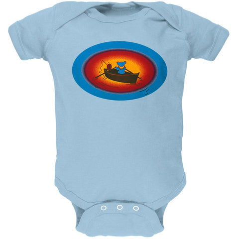 Grateful Dead - Terrapin & Bear Dinghy Blue Baby One Piece