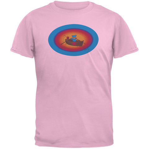Grateful Dead - Terrapin & Bear Dinghy Pink Youth T-Shirt