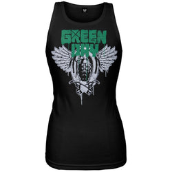Green Day - Grenades Juniors Tank Top