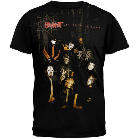 Slipknot - Jumbo Sepia All-Over T-Shirt