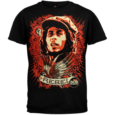 Bob Marley - Rebel Jumbo Soft T-Shirt