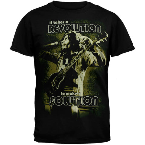 Bob Marley - Solution Jumbo Soft T-Shirt