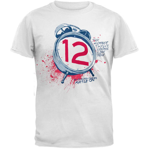 The Number Twelve Looks Like You - Clocks Soft T-Shirt