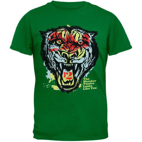 The Number Twelve Looks Like You - Tiger Face Soft T-Shirt