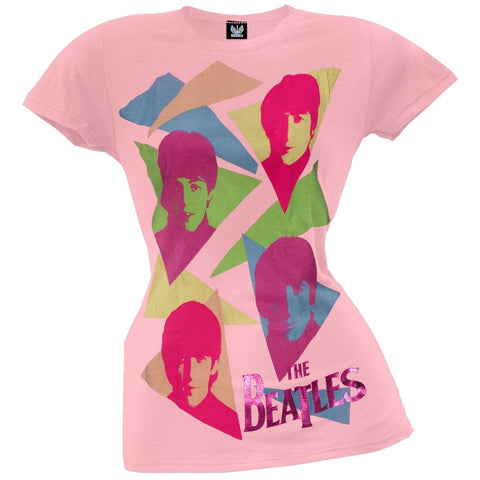 The Beatles - Triangles Juniors T-Shirt