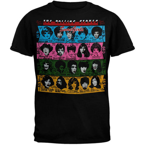 Rolling Stones - Some Girls Black T-Shirt