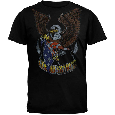 Lynyrd Skynyrd - Eagle And Flag Soft T-Shirt