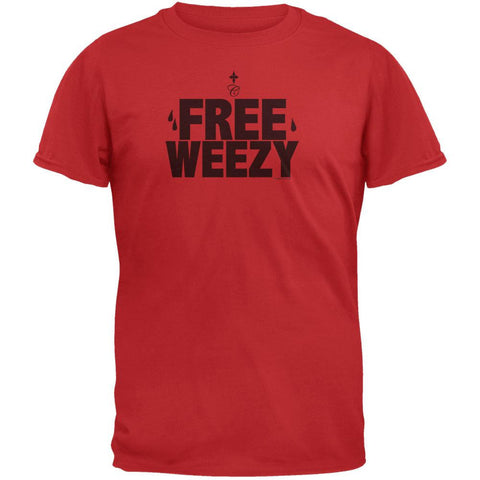 Free Weezy Red T-Shirt