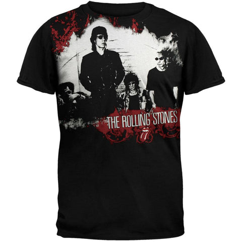 Rolling Stones - Group Subway T-Shirt