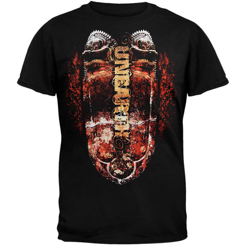 Unearth - Tiki Shield T-Shirt
