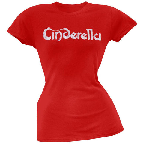 Cinderella - Distressed Logo Juniors T-Shirt