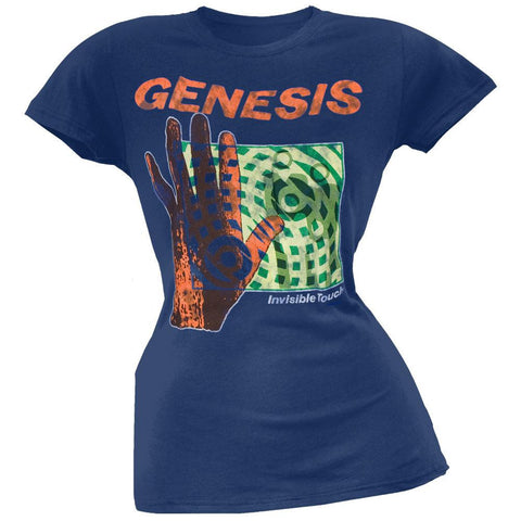 Genesis - Invisible Touch Juniors T-Shirt