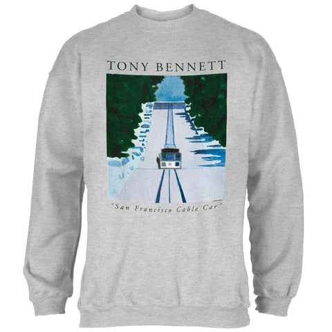 Tony Bennet - Cable Car Crew Neck Sweatshirt