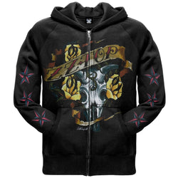 ZZ-Top - Six Shooter Zip Hoodie