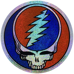 Grateful Dead - Steal Your Face Glitter Decal