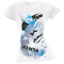 Alicia Keys - Eyes & Lips Juniors T-Shirt