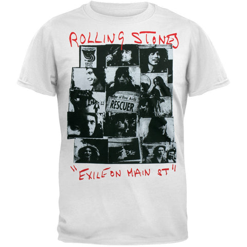 Rolling Stones - Rescuer Collage T-Shirt