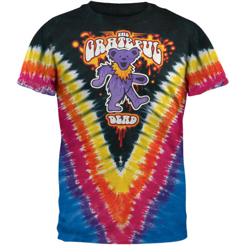 Grateful Dead - Liquid Bear V-Dye T-Shirt