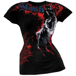 Slash - Nightrain All-Over Juniors T-Shirt