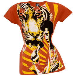 Elvis Presley - Tiger Man Juniors Subway T-Shirt