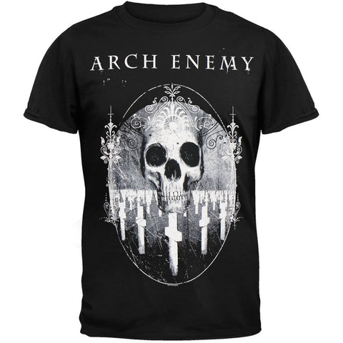 Arch Enemy - Tombstone Skull T-Shirt