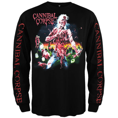 Cannibal Corpse - Eaten Back To Life Long Sleeve T-Shirt