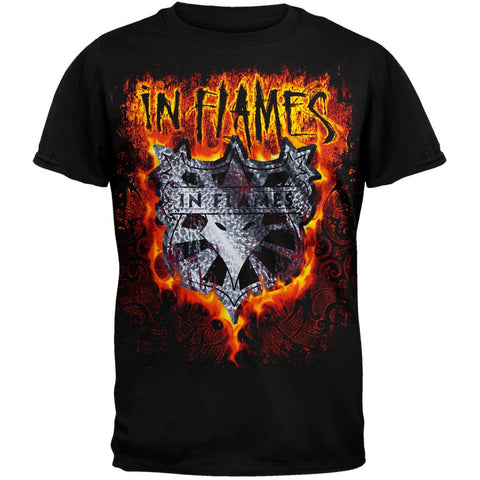 In Flames - Shield Flames T-Shirt