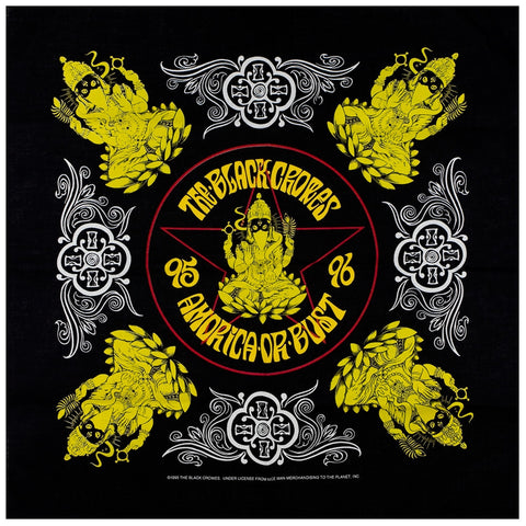 Black Crowes - Amorica Or Bust Bandana