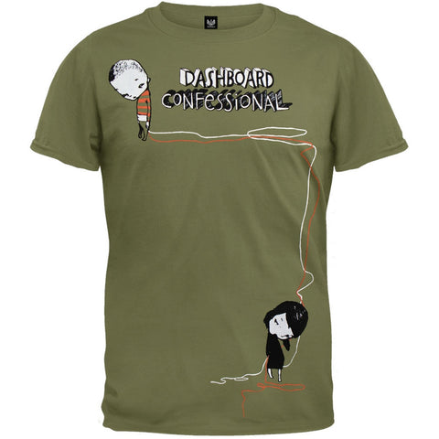 Dashboard Confessional - Sulking Boy Soft T-Shirt