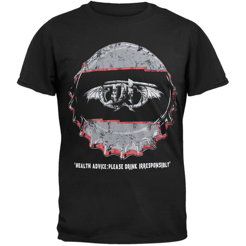 DragonForce - Bottle Cap T-Shirt