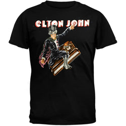 Elton John - Captain Piano 08 Tour T-Shirt