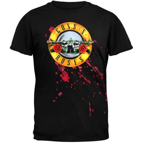 Guns N Roses - Bloody Bullet Soft T-Shirt