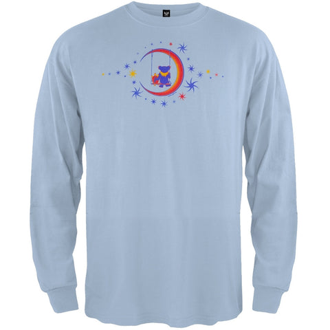 Grateful Dead - Moon Swing Light Blue Youth Long Sleeve T-Shirt