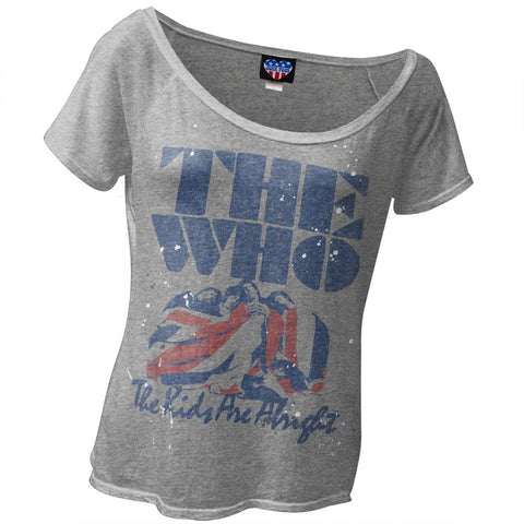 The Who - Kids Are Alright Juniors Slouch T-Shirt