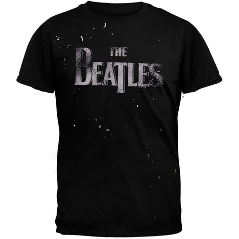 The Beatles - Logo Splatter Soft T-Shirt