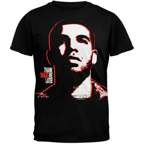 Drake - Thank Me Later Black T-Shirt