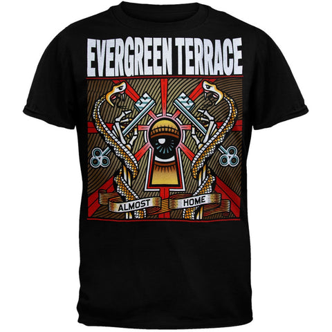 Evergreen Terrace - Almost Home Black T-Shirt