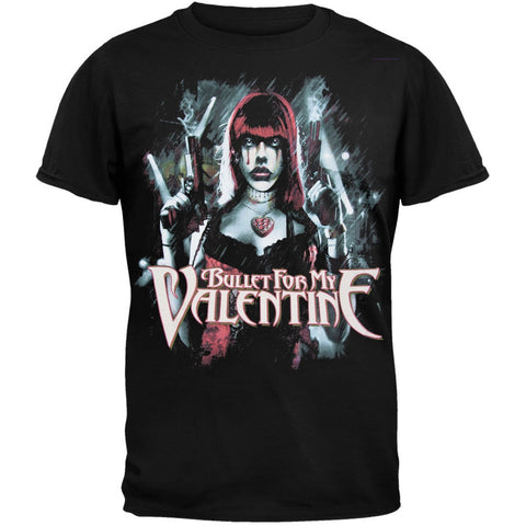 Bullet For My Valentine - Gun Woman T-Shirt