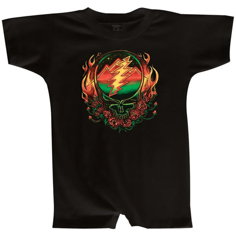 Grateful Dead - Scarlet Fire SYF Infant Romper