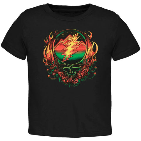Grateful Dead - Scarlet Fire SYF Black Toddler T-Shirt