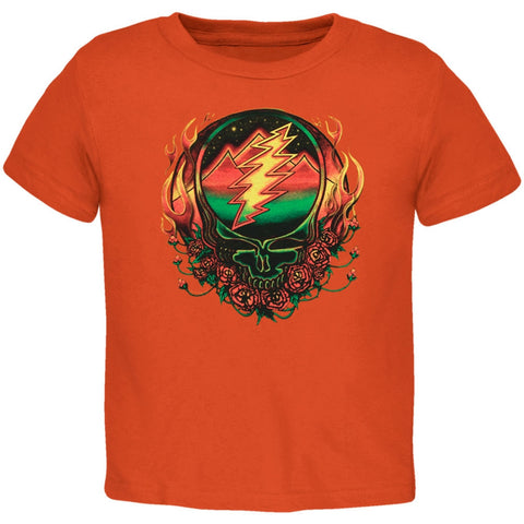 Grateful Dead - Scarlet Fire SYF Orange Toddler T-Shirt