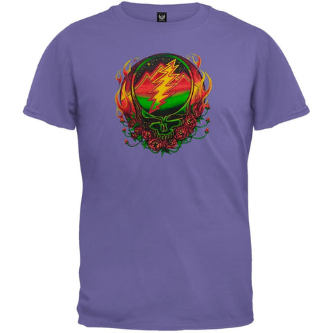 Grateful Dead - Scarlet Fire SYF Purple Youth T-Shirt