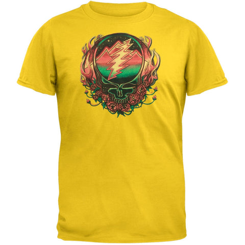 Grateful Dead - Scarlet Fire SYF Yellow Adult T-Shirt