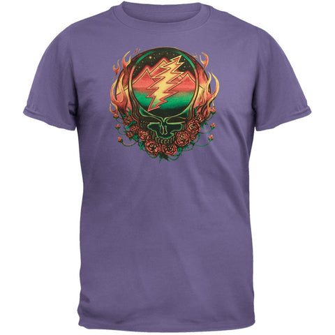 Grateful Dead - Scarlet Fire SYF Purple Adult T-Shirt