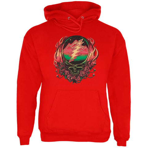 Grateful Dead - Scarlet SYF Red Adult Pullover Hoodie